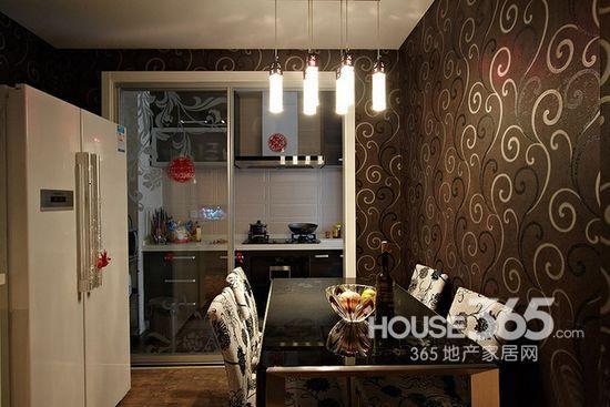 90平米装修样板房 小户型美好婚房设计