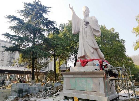 荆门一景区主体工程基本完工 春节前免费开放