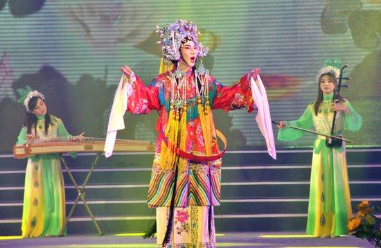 自考生的节日 第四届自考校园文化节黄家湖开幕