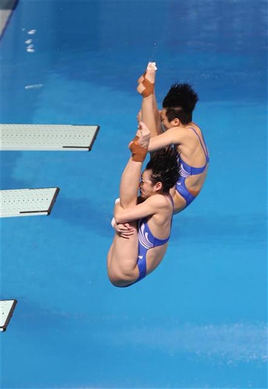 跳水世界杯中国队大丰收 仙桃小丫斩获最后一金