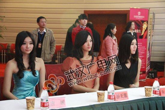 2011新丝路中国湖北启动仪式名模出席(图)