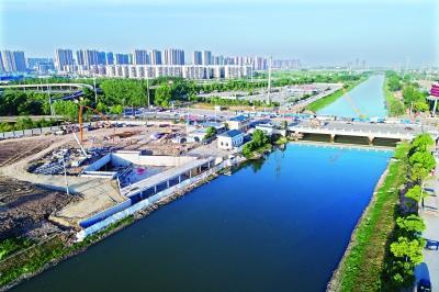 南湖4大排水工程进入冲刺 2项今日具备通水能力