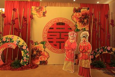 """""""新中式婚礼""""预热武汉婚庆市场图片"""