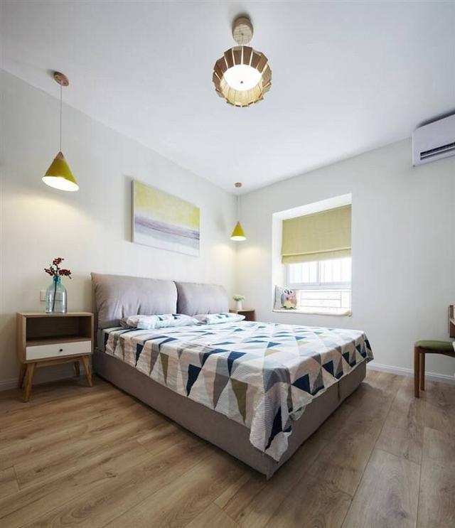 老屋立异,100平三居室装出北欧风!