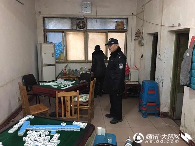 荆门白庙派出所关停18家麻将馆 拘留5名赌博人员