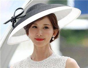 林志玲婚后首次现身 赛马场上初展人妻魅力