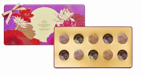 歌帝梵月饼礼盒 图片来源自品牌GODIVA歌帝梵-为什么中秋必须买月