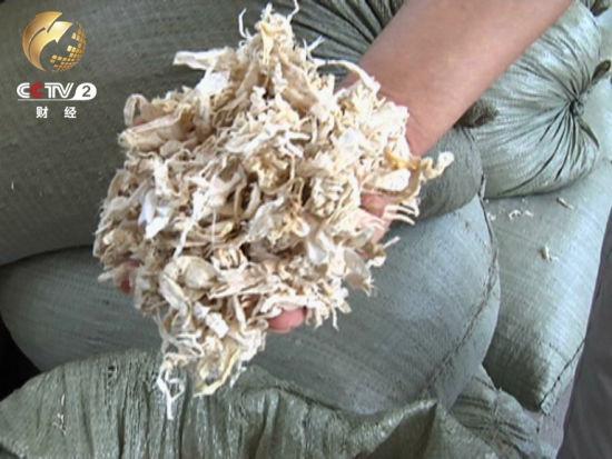 小龙虾虾壳制成的粉末 每吨20多万元