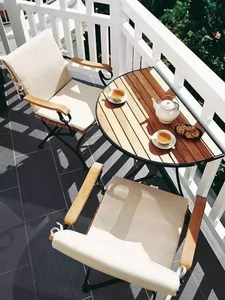 逆天了!阳台除了晾衣服还能变餐厅、书房、花园、游乐场