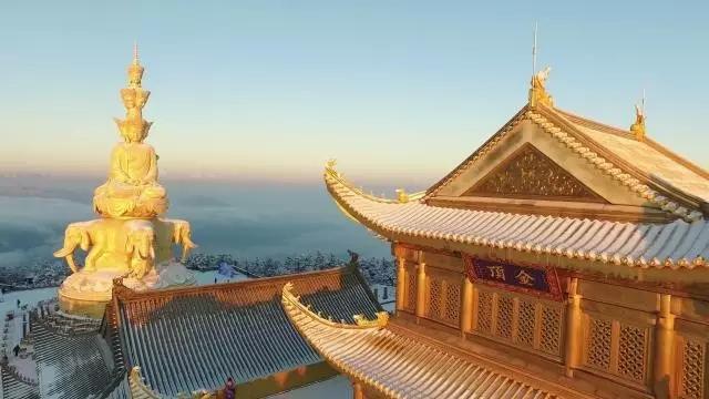 新春三大经典线路玩转峨眉山!
