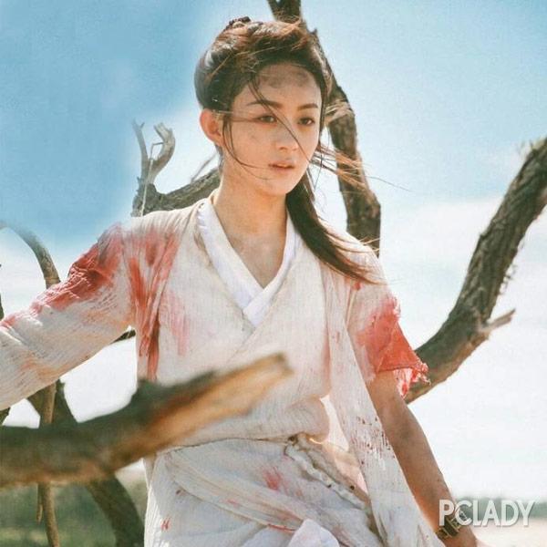 从晴儿到楚乔 赵丽颖是怎么越来越美的?
