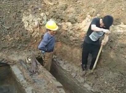 孝南区发现一北宋墓地 博物馆进行抢救性发掘