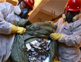 湖北无害化销毁假劣食品药品 涉案货值达3000万