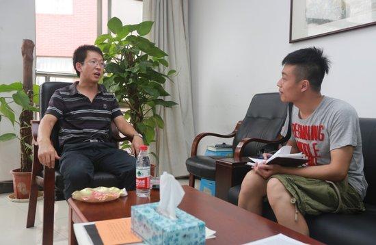大楚网独家采访武汉高考文科状元班主任