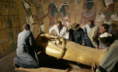 揭秘 古埃及木乃伊制作过程