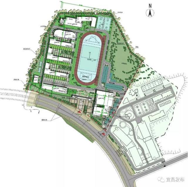 好消息!宜昌要建一所新学校 快来看看在哪