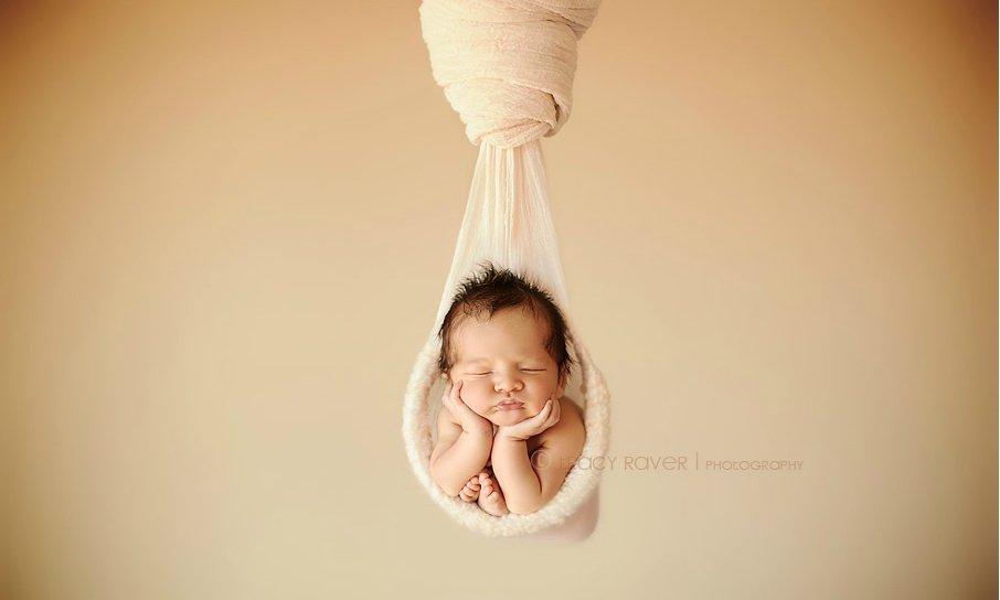 治愈系萌图:外国摄影师拍摄熟睡中的宝宝