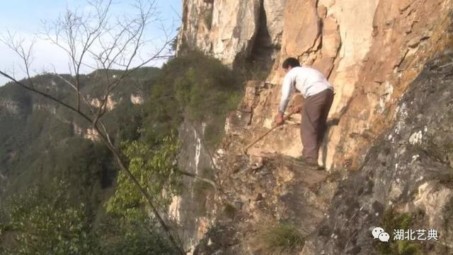 """在悬崖上造""""景区""""?这个5恩施人做到了!"""