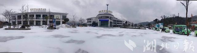 黄陂下雪啦!2018年武汉第一场雪如期而至(图)