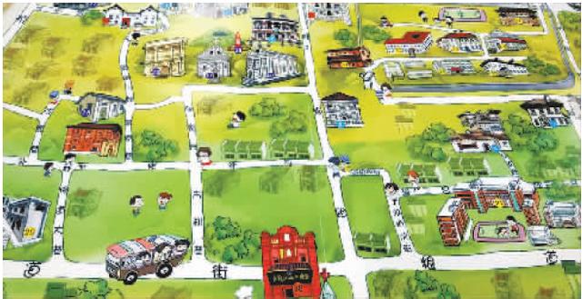 武汉手绘旅游地图十一前上市 游玩攻略萌翻市民