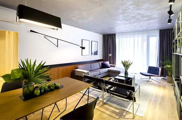 单身公寓的轻工业美学