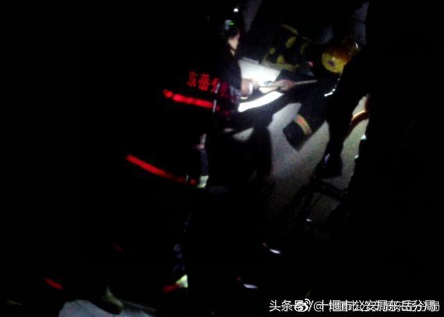 十堰女孩为救小猫掉下6米高天井 消防及时救助