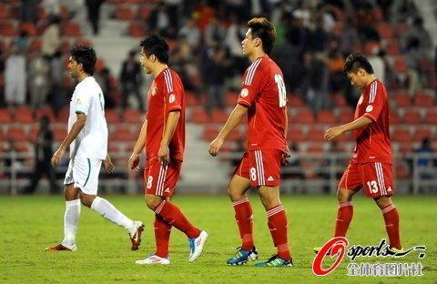 国足0-1负伊拉克 基本无缘2014年巴西世界杯