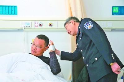 吸毒男子刀袭民警 教导员身中两刀仍将其制服