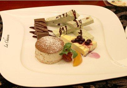 第三站:走进香颂地中海西餐厅