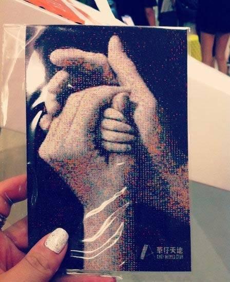 刘德华公开晒女儿照片三秒:高鼻大眼似朱丽倩
