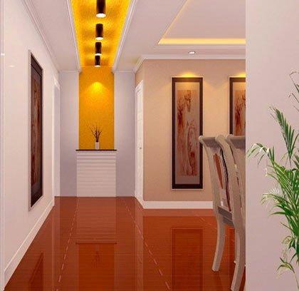 走廊玄关装修效果图 让你家也大气绚丽起来图片