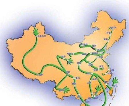隋朝的龙脉在弘农;唐朝的龙脉在长安