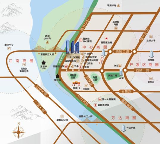 三江·至禧:这里窗外的江景 就值1000万