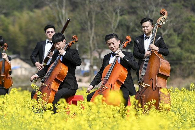 石牛寨 花田音乐节 开幕 美妙音乐奏响春天