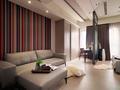 小户型大空间 现代大气公寓的设计
