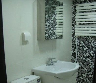 智慧卫生间设计图-小空间大智慧 江城牛人2㎡装出超实用卫生间