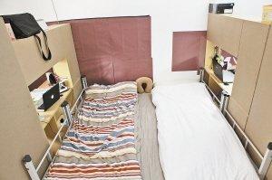 两大学生把宿舍变成酒店 45元改造出豪华套间图片