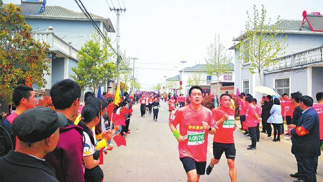 """""""美丽随县""""乡村马拉松激情开跑 4000余人参赛"""
