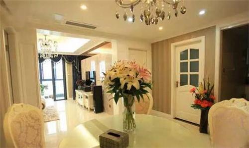 如何打造奢华欧式两居室?-家卫士装饰