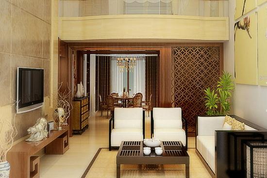 中式元素集结空间 8款中式风格别墅客厅设计