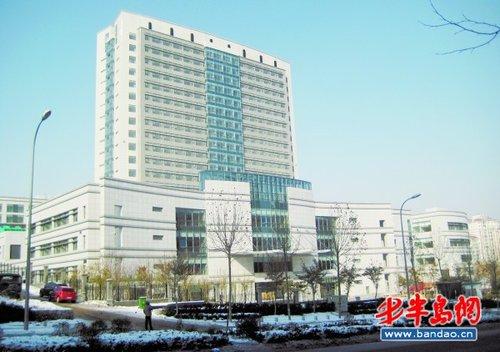齐鲁医院青岛院区位于合肥路758号的市专科医疗中心.-山大医院 回青图片