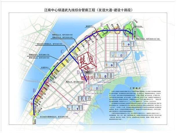全长16.24公里!武汉最长综合管廊正式开工