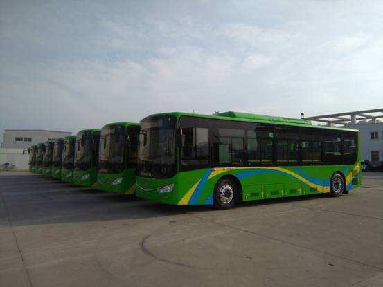 黄石112辆纯电动公交车投入运营 总价近6000万