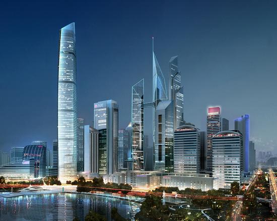 在建华中第一高楼年底至18层 武汉cbd巨势崛起