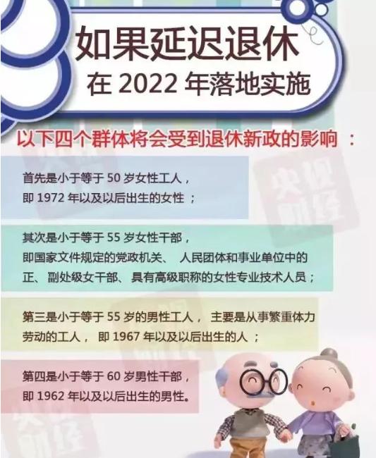 延迟退休方案有了新进展 人社部发表最新口径