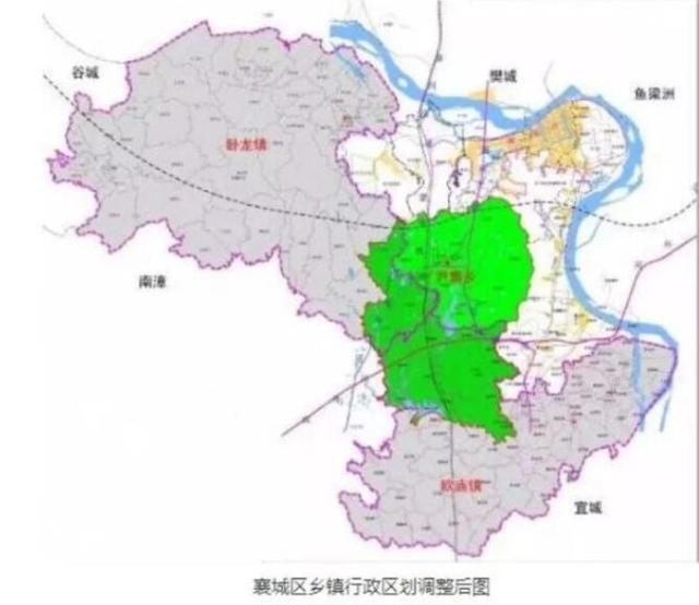 襄阳这个地方行政区划大调整 2万人将按计划迁移