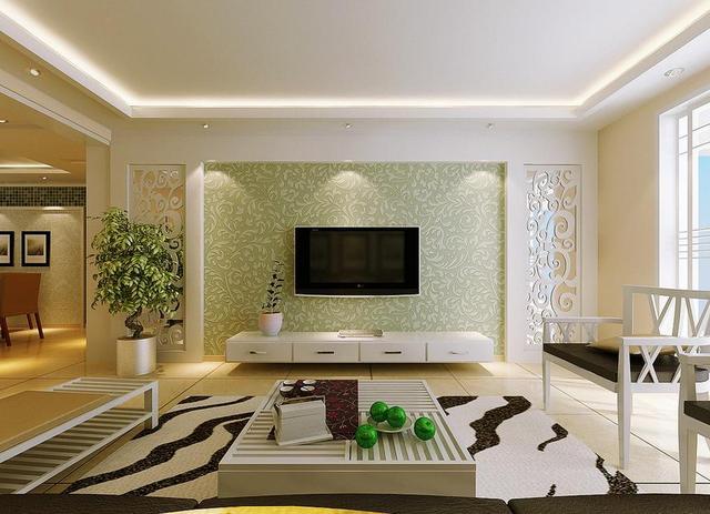 客厅背景墙风水禁忌和颜色选择