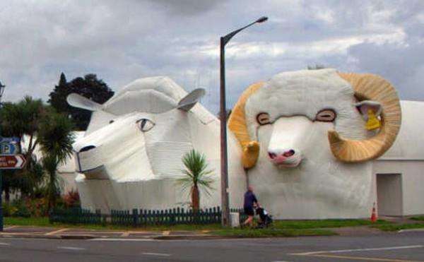 建筑也疯狂 它们都变成动物啦!