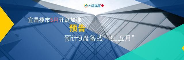 """5月宜昌楼市开盘加推预告:9盘备战""""红五月"""""""