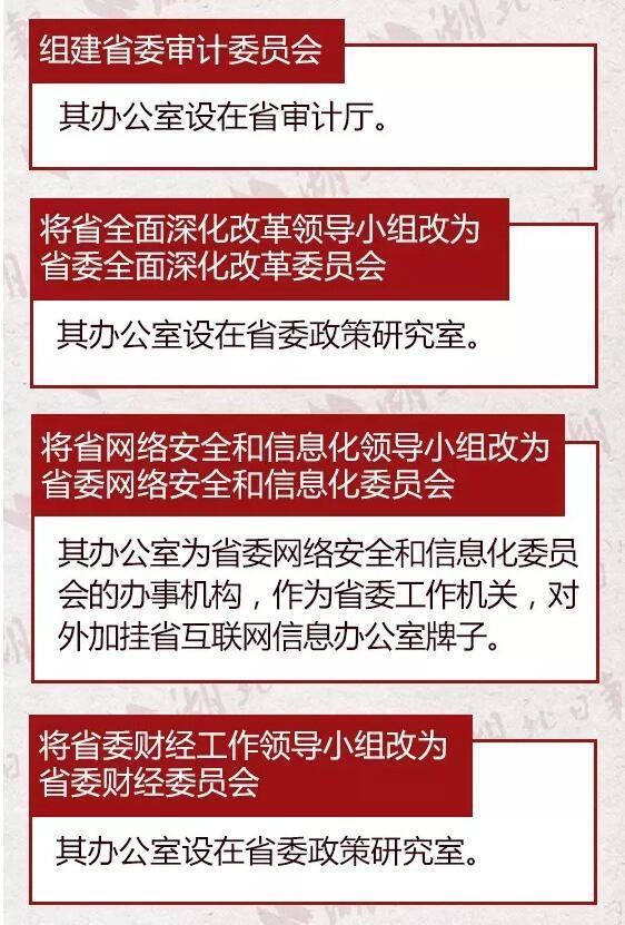 重磅!湖北省公布省级机构改革方案
